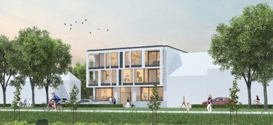 Bouwproject Brugge Residentie Steenkaai