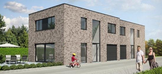 Bouwproject Maldegem Melingstraat