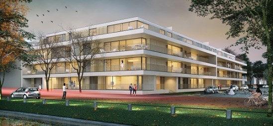 Bouwproject Brugge Residentie Desclée